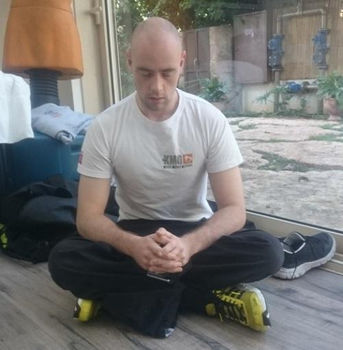 Joakim GIC Israel - meditation